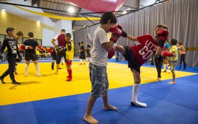 La Boxe Thaï a la cote chez les Grands, et les Petits